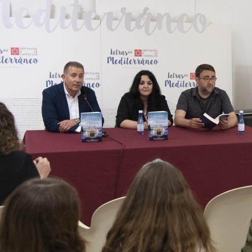 La Diputación continúa las presentaciones de los galardonados de Letras del Mediterráneo