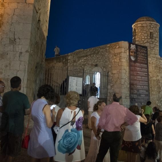 Comedia Aquilana mañana en el Festival de Teatro Clásico Castillo de Peñíscola