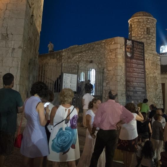Teatro clásico, ópera y visitas únicas esta semana en el Castillo de Peñíscola