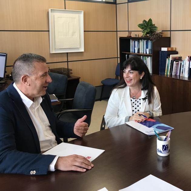 La Diputación y la UJI sientan las bases para nuevas colaboraciones culturales