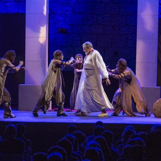 Concluye el XXIFestival de Teatro Clásico de Peñíscola con el gran espectáculo 'Nerón'