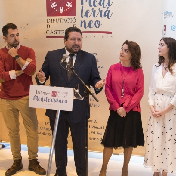 Letras de Mediterráneo promocionará Castellón en Sudamérica