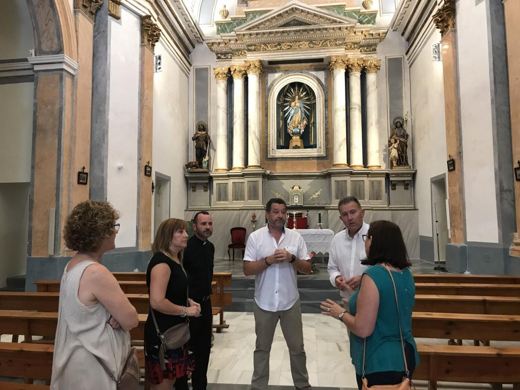 Diputación colaborará con Vall de Almonacid para restaurar obras de la Iglesia