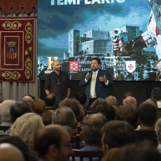 La serie Territorio Templario que impulsa la Diputación ya es líder del prime time