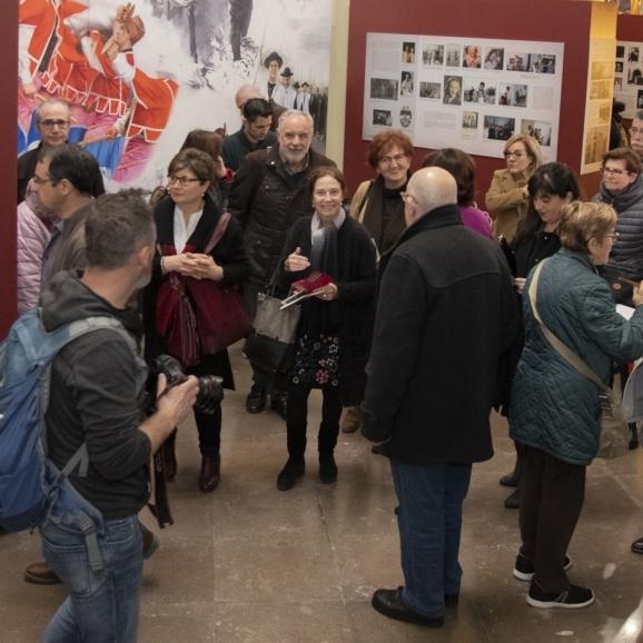 Más de 300 personas han visitado ya la exposición de la Diputación