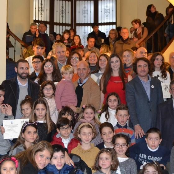 Diputación entrega los premios del IX Concurso de tarjetas navideñas 'Jesús Medrano'
