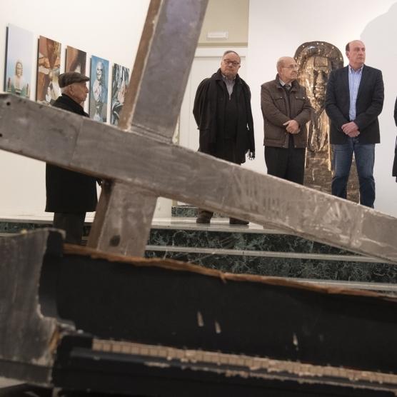 Diputació col·labora amb Fundació Caixa Castelló en la difusió de l'obra de Carles Santos