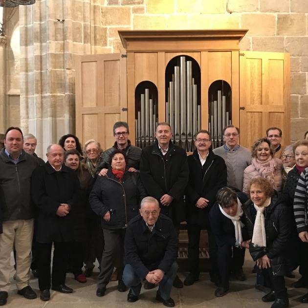 Diputació conclourà la instal·lació de l'òrgan de Sant Mateu