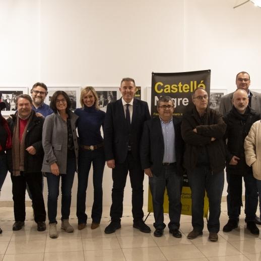 Diputación arranca con una exposición en Las Aulas el X aniversario de 'Castelló Negre'