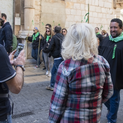 Moliner participa en la tradicional Romeria de Les Canyes de Castellón