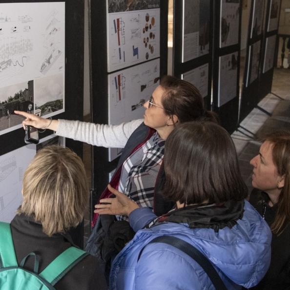 Un millar de personas han visitado la muestra de la rehabilitación de Sant Joan