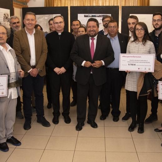 Diputación premia los mejores proyectos para la rehabilitación de Sant Joan