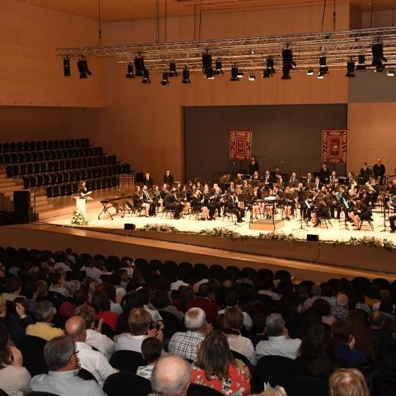 Éxito de público en el XLII Certamen Provincial de Bandas