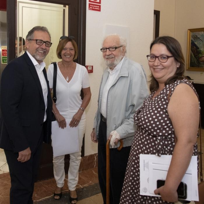La Diputación se interesa en la promoción del Castell de la Todolella