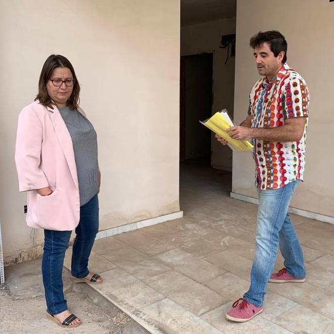 La Diputación estudiará fórmulas para retomar el proyecto de la Casa de Cultura de Borriol