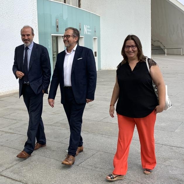 Cultura abre el camino a colaborar con Les Arts para acercar la programación a Castellón