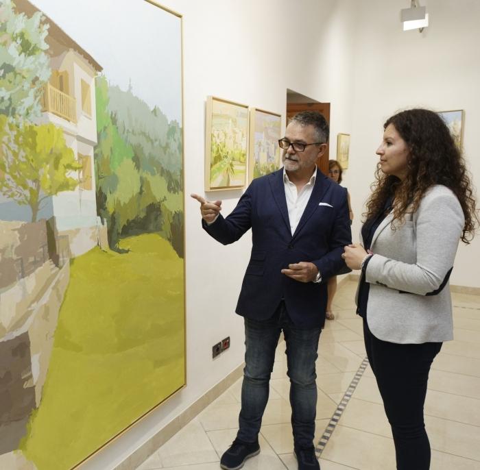 """L'Espai Cultural Obert acull l'""""elogi a la llum"""" de Javier Aoiz Orduna"""