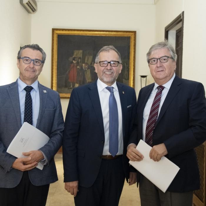José Martí muestra la disposición de Diputación a seguir colaborando con la Fundació Caixa Castelló