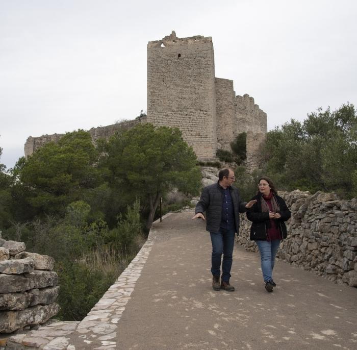 La Diputación recuperará como recurso turístico los castillos de Xivert y Polpís