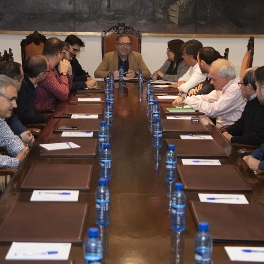 Martí seguirá negociando con el Obispado para conseguir la compra o la cesión de la hospedería de Sant Joan de Penyagolosa