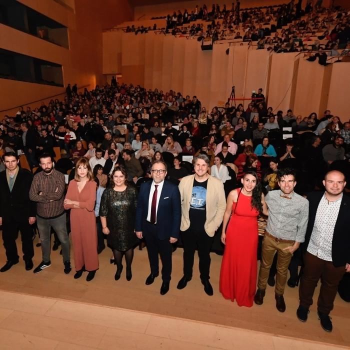 'Trofeo' s'alça amb el premi al millor curtmetratge de la província en la gran festa del cine castellonenc