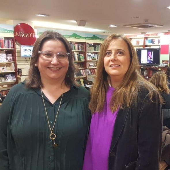 Ruth Sanz presenta el llibre 'Carolina y los valientes', d'Anna Casanovas, guardonat per Lletres del Mediterrani