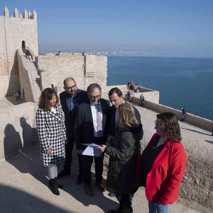 La Diputación de Castelló reabre al público mañana jueves el Castillo de Peñíscola