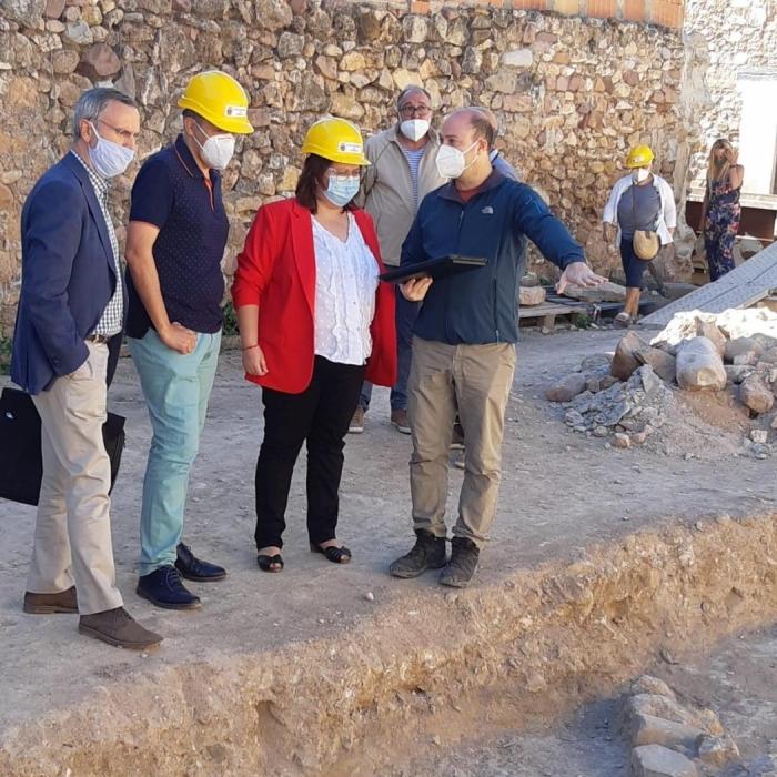 La Diputación recupera la ermita de San Francisco Javier de Soneja y estudia cambios en el proyecto para integrar el hallazgo de la iglesia visigoda