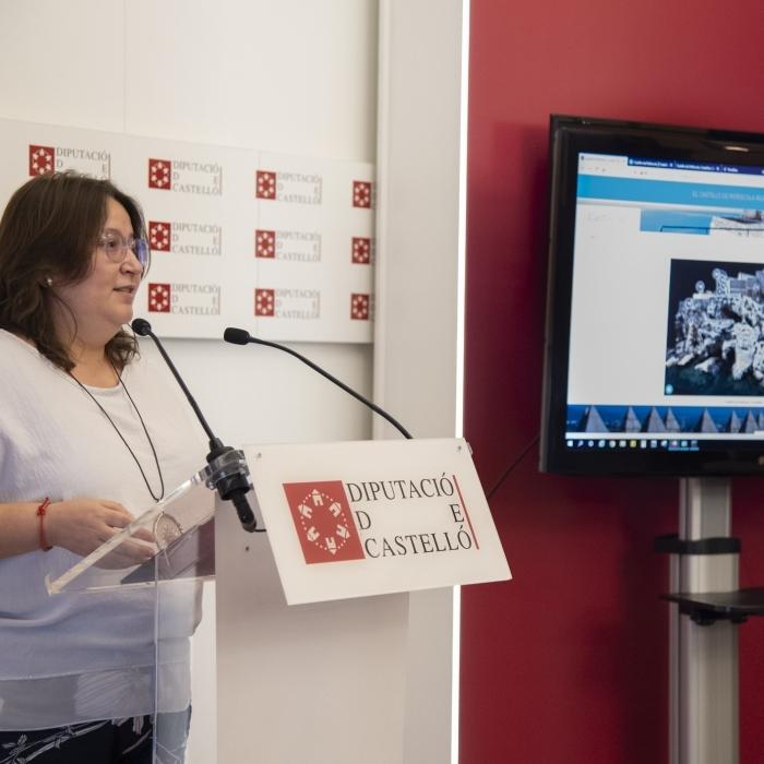 La Diputación hace accesible el Castillo de Peñíscola al 100% con la reproducción en la red de todo el recinto en 3D