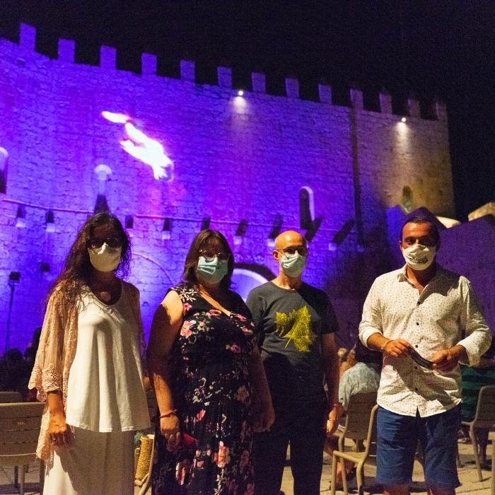 Ruth Sanz destaca el lleno total de las ocho jornadas del XIII Festival de Teatro Clásico de Peñíscola