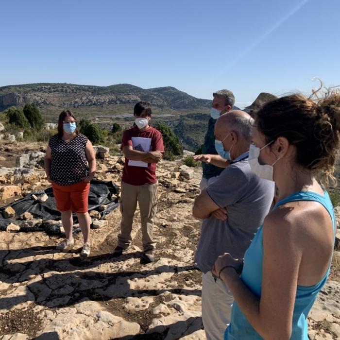 La Diputación impulsa una campaña de excavaciones en el Tossal de la Vila para investigar la que sería primera mezquita de carácter rural de la provincia de Castellón