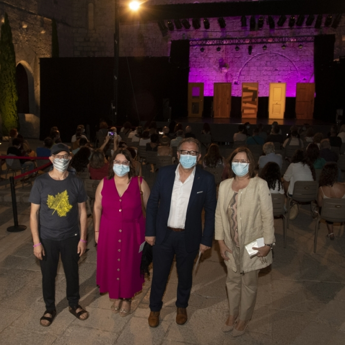 """La Diputación suma teatro, conferencias y conciertos en una programación cultural """"de lujo"""" para el Castillo de Peñíscola"""