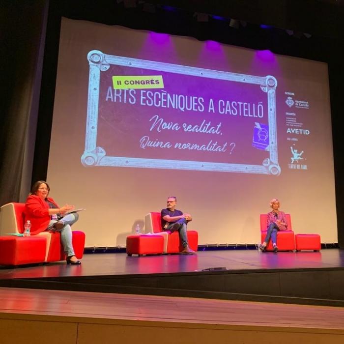 Ruth Sanz defiende en el Congreso de Artes Escénicas el cambio de gestión cultural de la Diputación de Castellón