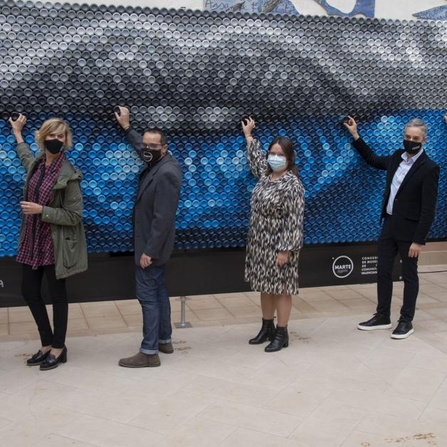 Diputación, Ayuntamiento de Castelló y el Consorci de Museus traen a la capital la mayor muestra de arte contemporáneo con MARTE