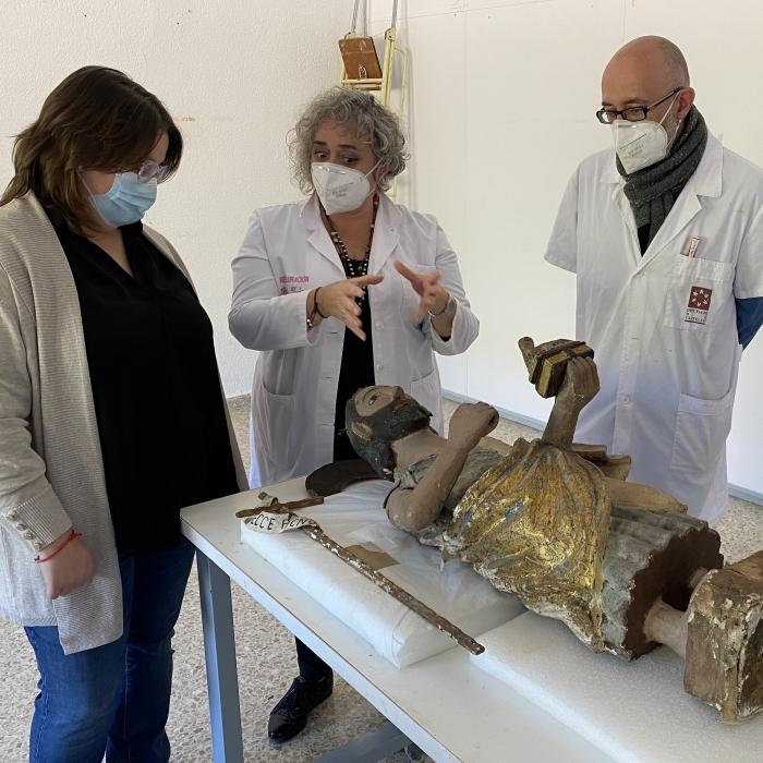 La Diputación reafirma su apuesta por la recuperación del santuario del Penyagolosa y restaurará la talla románica de Sant Joan