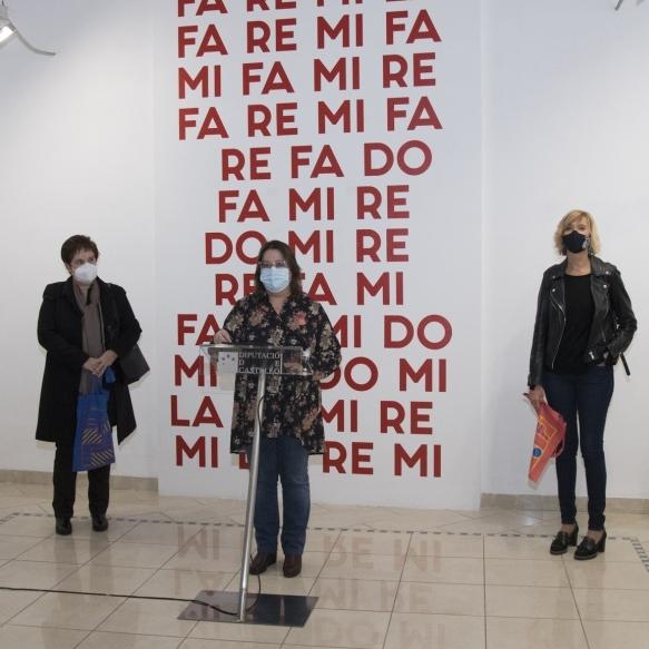 """La Diputación de Castellón celebra el Día Internacional de los Museos con la transgresión y la fuerza de la exposición """"La-Re-Mi-La"""" de Carles Santos"""