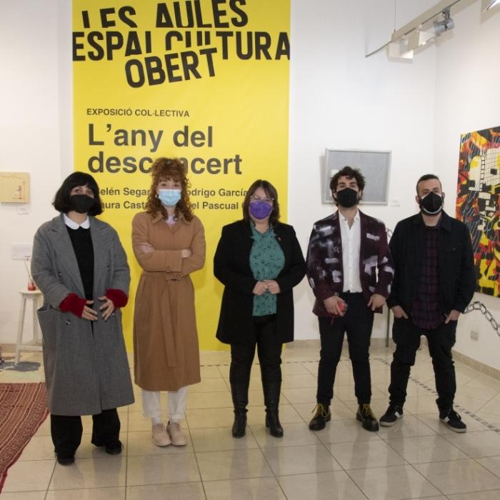 Ruth Sanz abre Les Aules al talento joven con el estreno del nuevo modelo de gestión del centro cultural de la Diputación