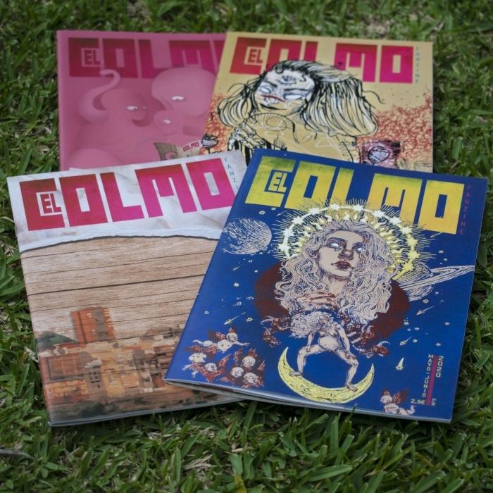 El Espai Cultural Obert Les Aules acoge la presentación de 'El Colmo Fanzine', una publicación participativa que tiene en la ilustración su nexo de unión