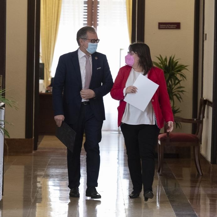 Aprobada por unanimidad la propuesta de adhesión de la Diputación al convenio marco de recuperación de Sant Joan de Penyagolosa