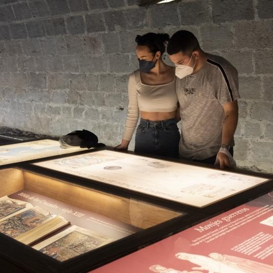 El castillo de Peñíscola cierra una Pascua «muy positiva» en cuanto a visitas con cifras próximas a las registradas antes de la pandemia
