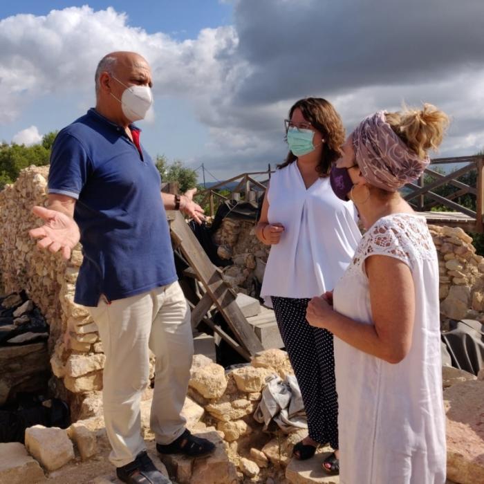 La Diputación de Castellón rescata y pone en valor como recurso turístico el yacimiento del Puig de la Misericòrdia de Vinaròs