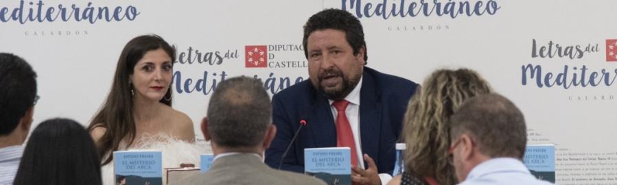 Espido Freire presenta 'El Misterio del Arca'