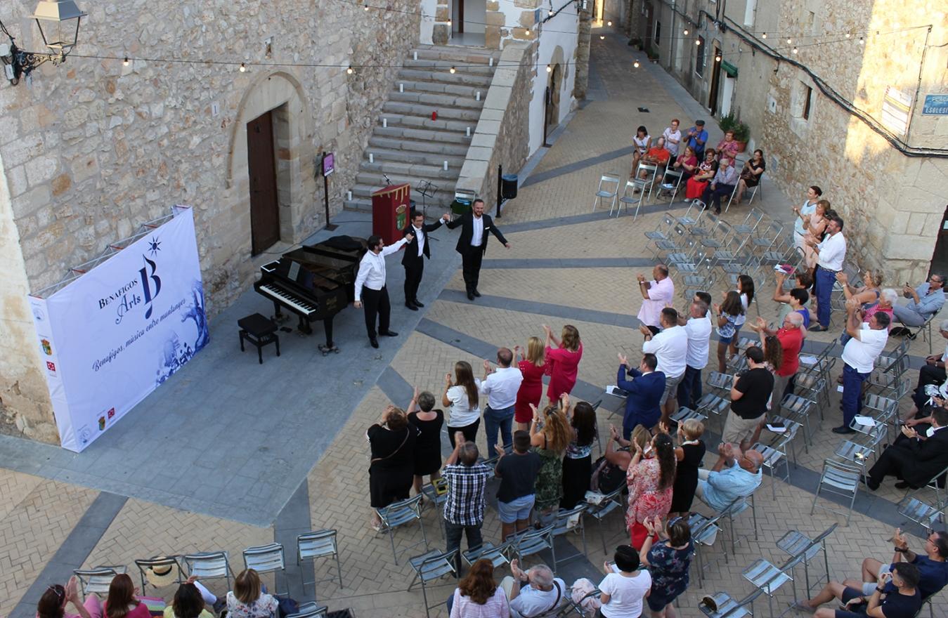 Diputación programa 'Il segreto de Susanna W. Ferrari' en el I Festival Benafigos Arts