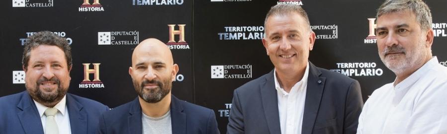 Diputación potencia Territorio Templario con 5 emisiones en España y Portugal