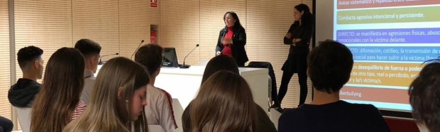 La Diputación suma al Colegio de Psicólogos contra el acoso escolar