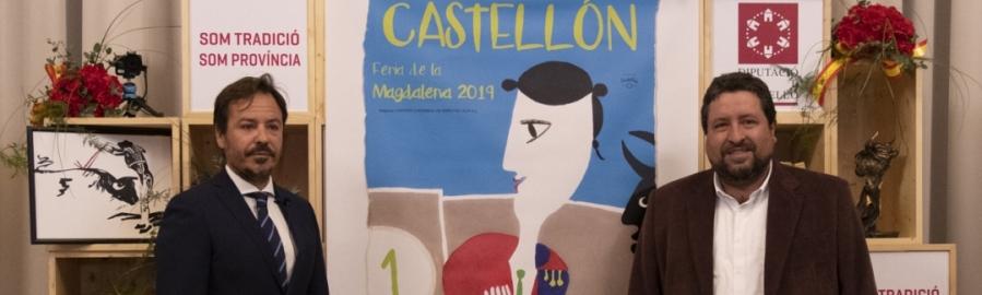 Diputación acoge la presentación del Cartel de la Feria de la Magdalena 2019
