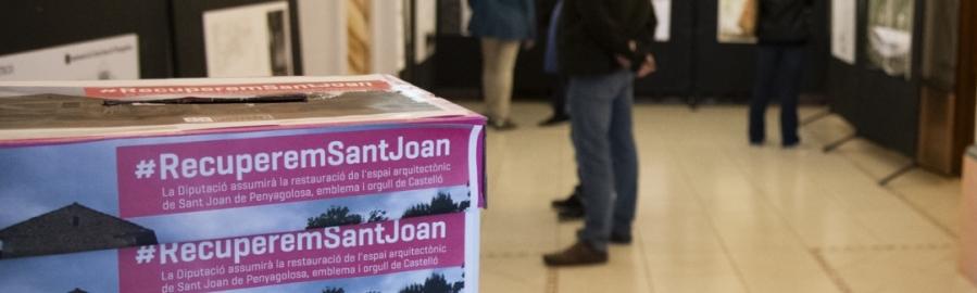 Diputación mantiene en Las Aulas la exposición de los proyectos de Sant Joan