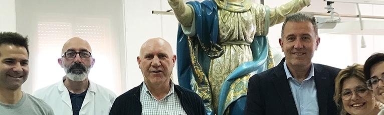 Diputación concluye la restauración de la Virgen de Nuestra Señora de la Asunción