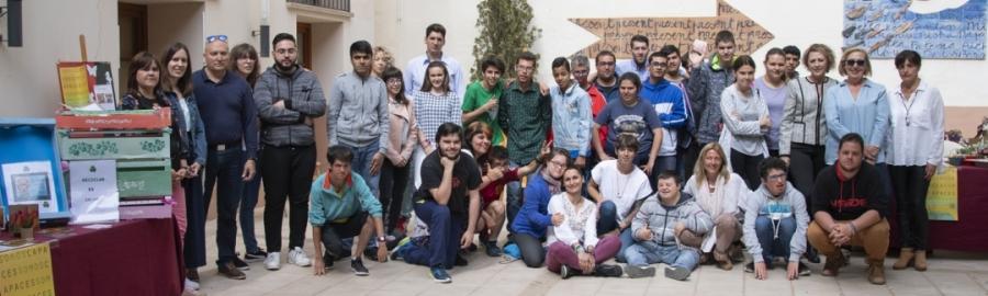 Diputación acoge la venta solidaria con la III Exposición de Talleres del Penyeta Roja