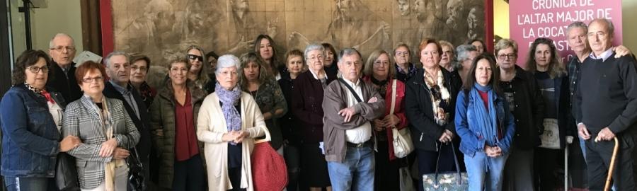 Servicio de transporte gratuito para visitar la exposición de Traver Calzada en el Palau Provincial
